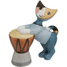 "Goebel Figur Rosina Wachtmeister - Katze ""Tamburino"" 9,0 cm"