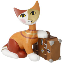 Goebel Figur Rosina Wachtmeister - Katze Villeggiatura estiva 10,0 cm
