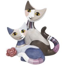 """Goebel Figur Rosina Wachtmeister - Katzenpaar """"Lorena e Gulio"""" 8,0 cm"""
