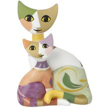 """Goebel Figur Rosina Wachtmeister Katzenpaar """"Silvia e Astro"""" 8,0 cm"""