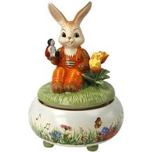 Goebel Figur Spieluhr - Picknick im Frühling 17,0 cm