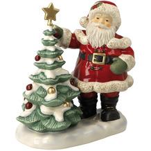 Goebel Figur Weihnachtsmann Festlich geschmückt 24,0 cm