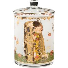 Goebel Gebäckdose Gustav Klimt - Der Kuss ø15 cm