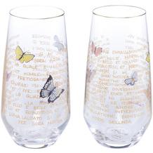 "Goebel Glas Rosina Wachtmeister - Set 2tlg. ""Giorni di sole"" 15,0 cm"