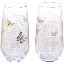Goebel Glas Rosina Wachtmeister - Set 2tlg. Giorni di sole 15,0 cm