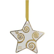 """Goebel Hängeornament Gustav Klimt - """"Der Lebensbaum gold-weiß"""" 10,5 cm"""
