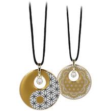 Goebel Halskette Blume des Lebens - Yin Yang 58 cm
