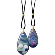 Goebel Halskette Claude Monet - Seerosen am Abend 80,0 cm