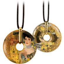 "Goebel Halskette Gustav Klimt - ""Adele Bloch-Bauer"" 58,0 cm"