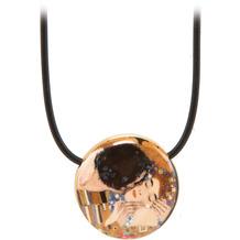 "Goebel Halskette Gustav Klimt - ""Der Kuss"" 54,0 cm"