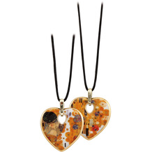 Goebel Halskette Gustav Klimt - Der Kuss 58,0 cm