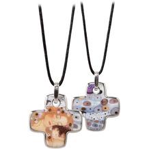 Goebel Halskette Gustav Klimt - Die drei Lebensalter 58 cm