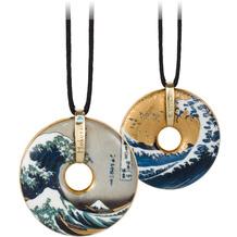 Goebel Halskette Hokusai - Die Welle 58,0 cm