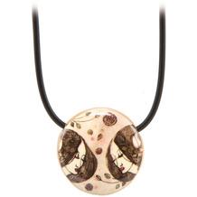 Goebel Halskette Mackintosh - Zusammenkunft / Stiefmütterchen 54,0 cm