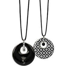 "Goebel Halskette Maja von Hohenzollern - Design ""Diamonds"" 80 cm"