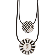 Goebel Halskette Maja von Hohenzollern - Design Diamonds/Stripes 54,0 cm