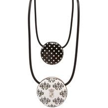 """Goebel Halskette Maja von Hohenzollern - Design """"Dots/Floral"""" 54,0 cm"""