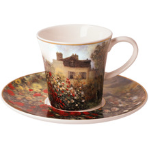 Goebel Kaffeetasse Claude Monet - Das Künstlerhaus 8,5 cm