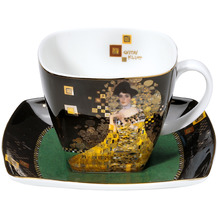 "Goebel Kaffeetasse Gustav Klimt - ""Adele Bloch-Bauer"" 10,0 cm"