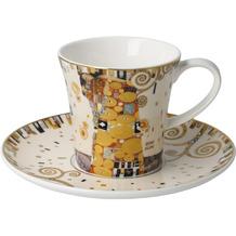 Goebel Kaffeetasse Gustav Klimt - Die Erfüllung 8,5 cm