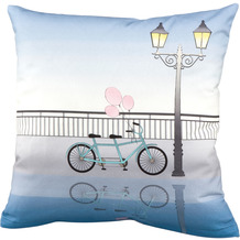 Goebel Kissenhülle Bicycle 40 x 40 cm