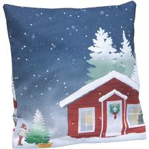 Goebel Kissenhülle Christmas at Home 40 x 40 cm