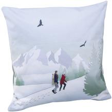 Goebel Kissenhülle Walk in the Snow 40 x 40 cm