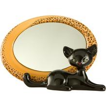 Goebel Kitty de luxe* Leopard Kitty - Spiegel