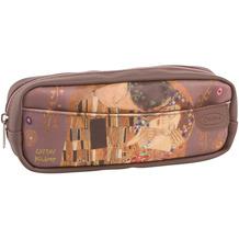 """Goebel Kosmetiktasche Gustav Klimt - """"Der Kuss"""" 21 x 6 x 8 cm"""