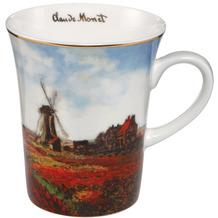 Goebel Künstlertasse Claude Monet - Tulpenfeld 11,0 cm