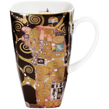 Goebel Künstlertasse Gustav Klimt - Die Erfüllung 14,0 cm
