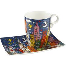 "Goebel Künstlertasse James Rizzi - ""My New York City Night"" 12,0 cm"