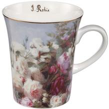 Goebel Künstlertasse Jean Baptiste Robie - Stillleben mit Blumen 11,0 cm
