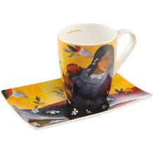 Goebel Künstlertasse Paul Gauguin - Frau mit Mango 12,0 cm