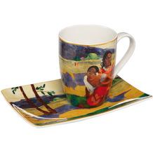 """Goebel Künstlertasse Paul Gauguin - """"Wann heiratest Du?"""" 12,0 cm"""