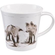 """Goebel Coffee-/Tea Mug Peter Schnellhardt - """"Erste Entdeckungsreise"""" 9,5 cm"""