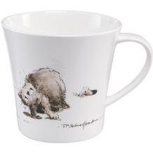 "Goebel Coffee-/Tea Mug Peter Schnellhardt - ""Katzenjammer"" 9,5 cm"