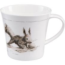 "Goebel Coffee-/Tea Mug Peter Schnellhardt - ""Leckerer Wintervorrat"" 9,5 cm"