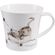 """Goebel Coffee-/Tea Mug Peter Schnellhardt - """"Spielstunde"""" 9,5 cm"""