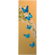 Goebel Magnettafel Joanna Charlotte - Blue Butterflies 25,0 x 75,0 cm