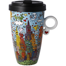 "Goebel Mug To Go James Rizzi - ""My New York City Day"" 15,0 cm"