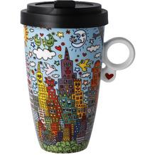 "Goebel Mug To Go James Rizzi - ""My New York City Day"" 15,0 cm"