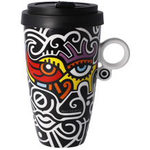 "Goebel Mug To Go Billy the Artist - ""Bright Eyes"" 15,0 cm"