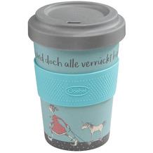 Goebel Mug To Go Barbara Freundlieb - Die sind doch alle verrückt 14,0 cm