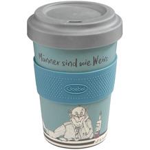 """Goebel Mug To Go Barbara Freundlieb - """"Männer sind wie Wein"""" 14,0 cm"""