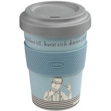 """Goebel Mug To Go Barbara Freundlieb - """"Wer schlau ist"""" 14,0 cm"""