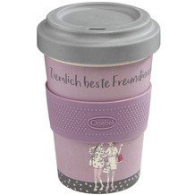 Goebel Mug To Go Barbara Freundlieb - Ziemlich beste Freundinnen 14,0 cm