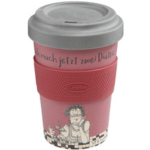 Goebel Mug To Go Barbara Freundlieb - Zwei Diäten 14,0 cm