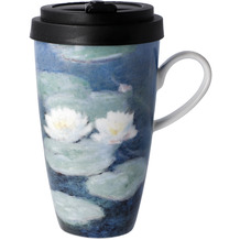 "Goebel Mug To Go Claude Monet - ""Seerosen am Abend"" 15,0 cm"
