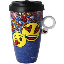 "Goebel Mug To Go emoji® by BRITTO® - ""I Love You"" 15,0 cm"